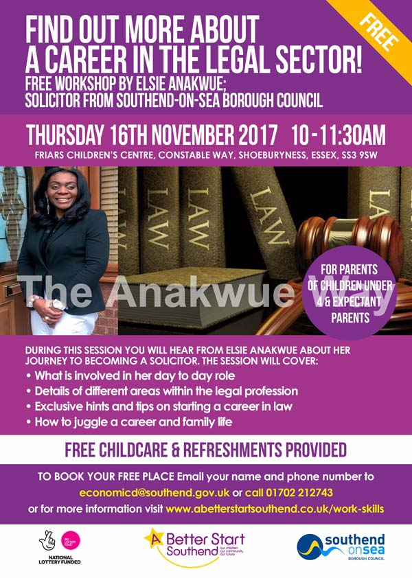 Free workshop with Elsie Anakwue