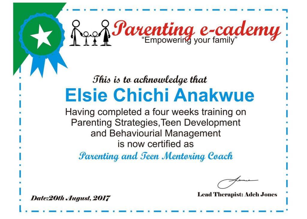 Elsie Anakwue - Parenting e-coach